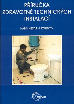Příručka zdravotně technických instalací obálka knihy