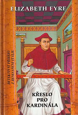 Křeslo pro kardinála obálka knihy