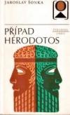 Případ Hérodotos obálka knihy