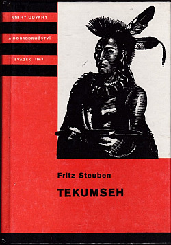 Tekumseh (1. díl) obálka knihy
