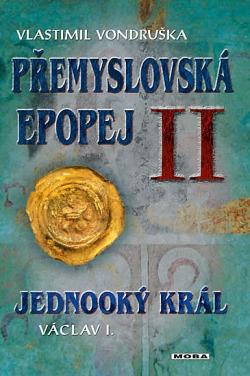 Jednooký král Václav I. obálka knihy