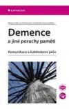Demence a jiné poruchy paměti obálka knihy