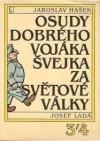 Osudy dobrého vojáka Švejka za světové války 3, 4 obálka knihy