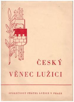 Český věnec Lužici obálka knihy