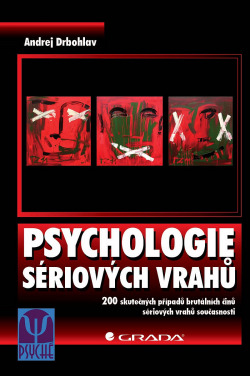 Psychologie sériových vrahů obálka knihy
