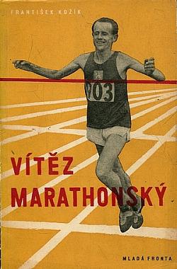 Vítěz marathonský obálka knihy