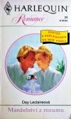 Manželství z rozumu obálka knihy