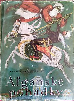 Afgánské pohádky obálka knihy