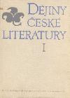 Dějiny české literatury I. - Starší česká literatura