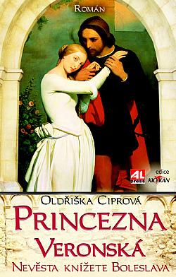 Princezna Veronská obálka knihy