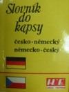 Slovník do kapsy česko-německý německo-český