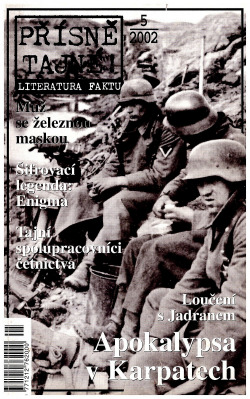 Apokalypsa v Karpatech obálka knihy