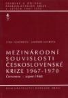Mezinárodní souvislosti československé krize 1967-1970, sv. 4/2 - Červenec - srpen 1968