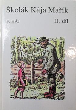 Školák Kája Mařík 2. díl obálka knihy