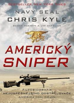 Americký sniper obálka knihy