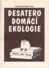 Desatero domácí ekologie obálka knihy