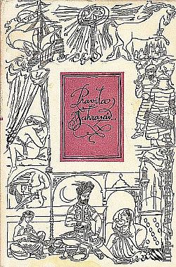 Pravila Šahrazád... obálka knihy