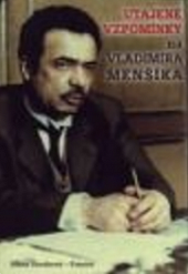 Utajené vzpomínky na Vladimíra Menšíka obálka knihy