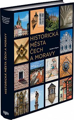 Historická města Čech a Moravy obálka knihy