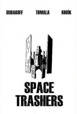 Space Trashers obálka knihy