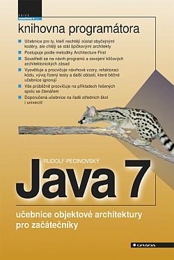 Java 7 - učebnice objektové architektury pro začátečníky obálka knihy