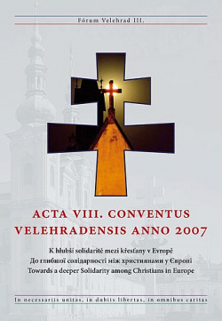 Acta VIII. Conventus Velehradensis anno 2007 obálka knihy