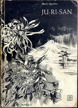 Ju-Ri-San, malířka chrysantém obálka knihy
