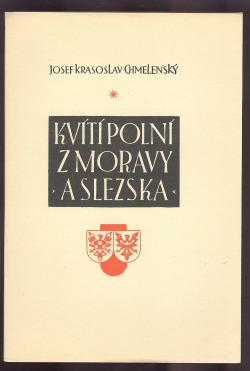 Kvítí polní z Moravy a Slezska obálka knihy