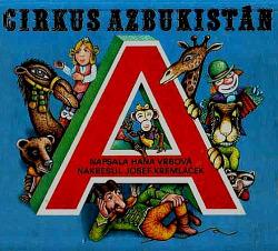 Cirkus Azbukistán obálka knihy