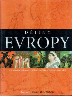 Dějiny Evropy obálka knihy