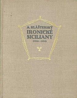 Ironické siciliany obálka knihy