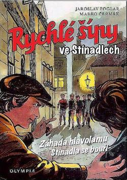 Rychlé šípy ve Stínadlech (komiks) obálka knihy