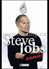 Steve Jobs komiks obálka knihy
