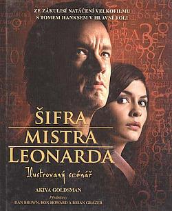 Šifra mistra Leonarda - ilustrovaný scénář obálka knihy