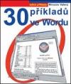 30 příkladů ve Wordu