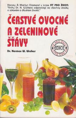 Čerstvé ovocné a zeleninové šťávy obálka knihy
