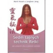 Sedm tajných technik Reiki obálka knihy