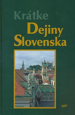 Krátke dejiny Slovenska obálka knihy