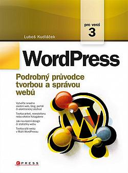 WordPress: Podrobný průvodce tvorbou a správou webů obálka knihy