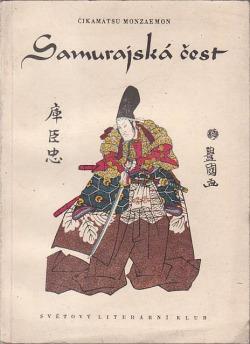 Samurajská čest obálka knihy