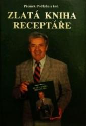 Zlatá kniha receptáře obálka knihy