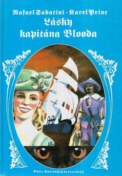Lásky kapitána Blooda obálka knihy