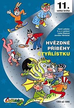 Hvězdné příběhy Čtyřlístku 1993-1995 obálka knihy