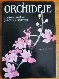 Orchideje obálka knihy