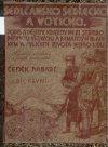 Sedlčansko, Sedlecko a Voticko - I. díl obálka knihy