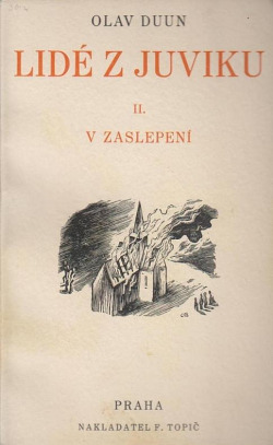 V zaslepení obálka knihy