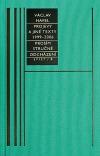 Spisy 8: Projevy a jiné texty z let 1999–2006 / Prosím stručně / Odcházení