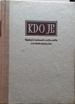Kdo je - svazek 1-10 obálka knihy