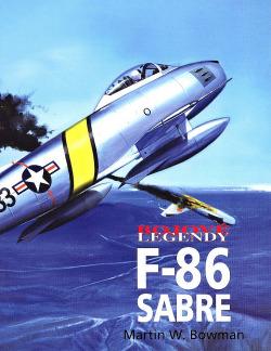 F-86 Sabre obálka knihy