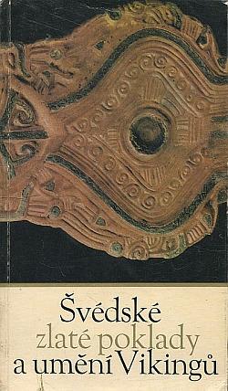 Švédské zlaté poklady a umění Vikingů obálka knihy